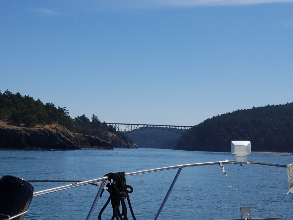 first boating trip deception pass