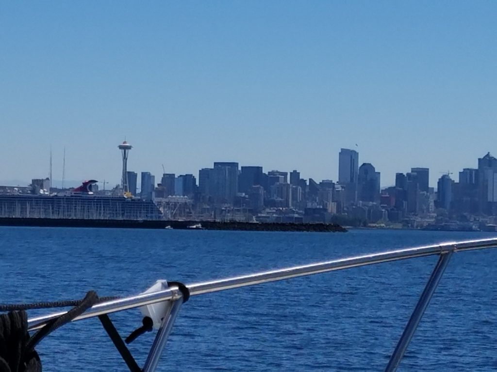first boating down town seattle