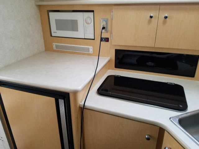 boat galley stovetop microwave
