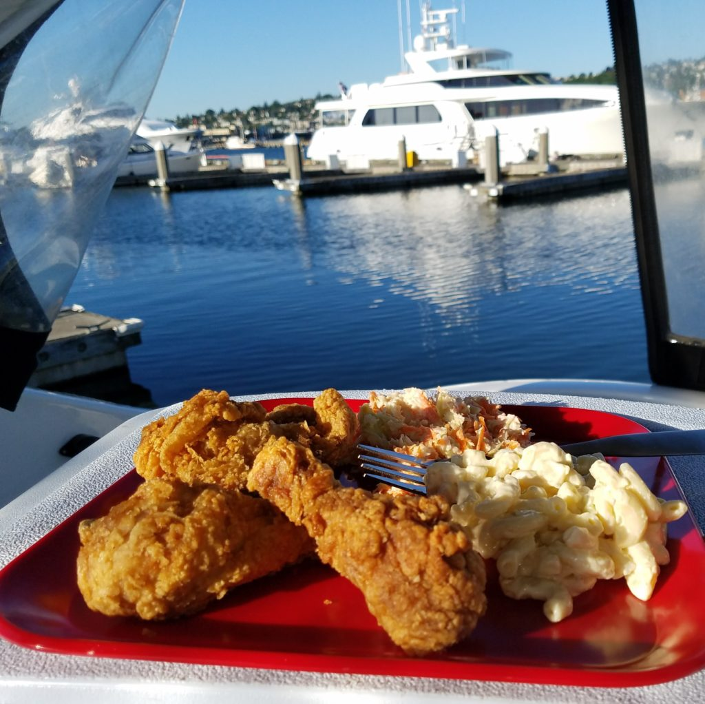 take out dinner for galley