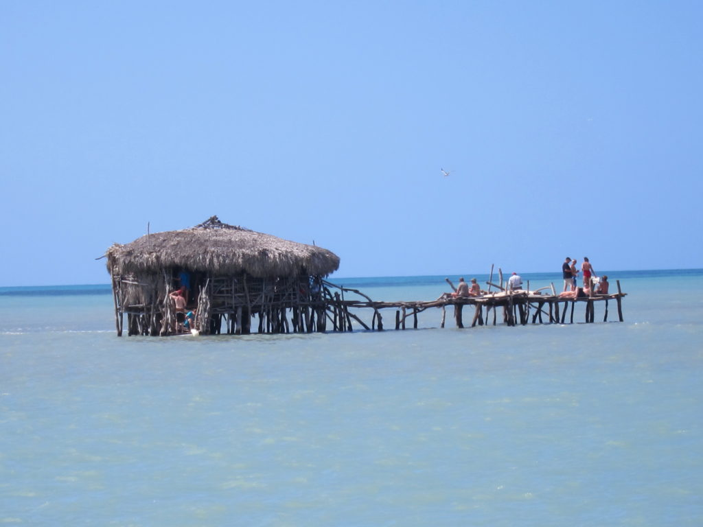 sand bar jamaica tourist