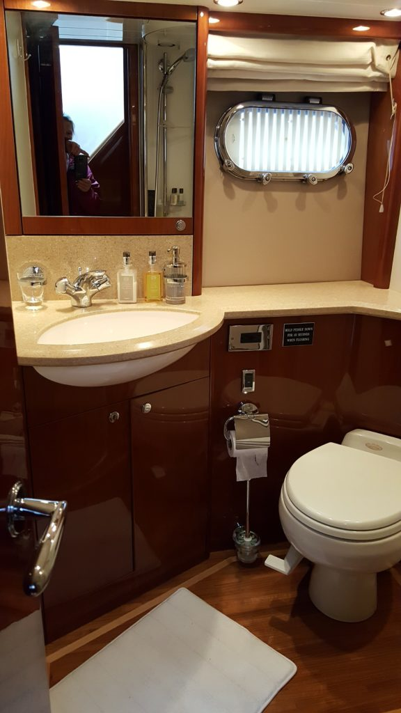 yacht bathroom toilet