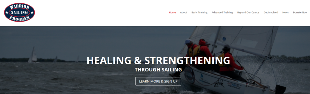 sailing charitable organization veterans