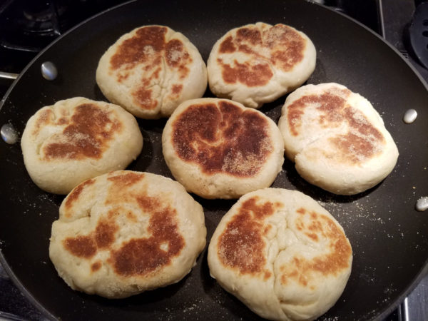 boating journey english muffin recipe